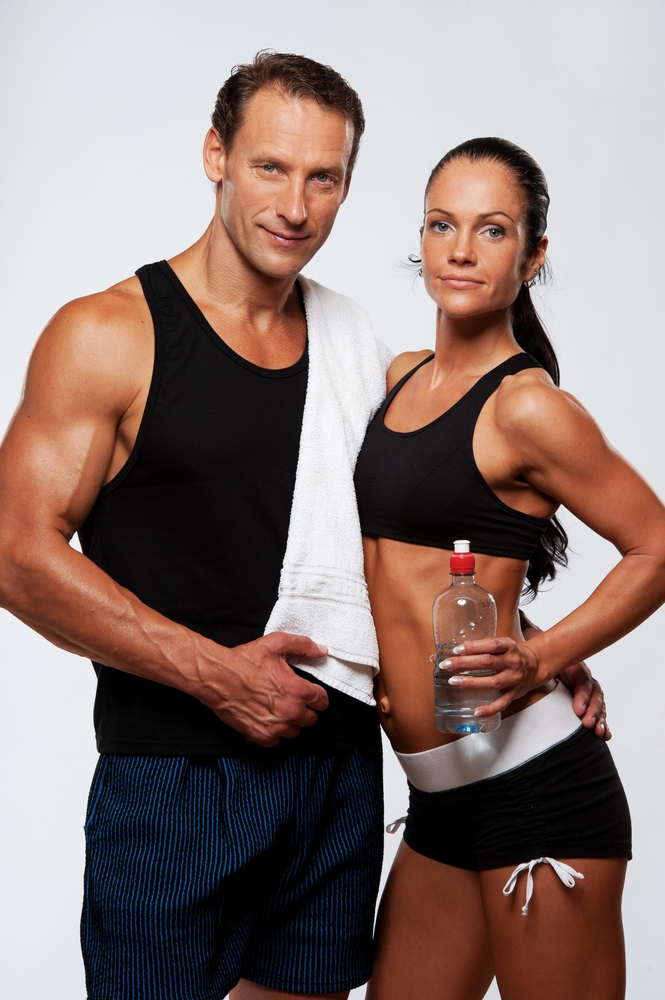 Pictures of top shape athletic couples — photo 13